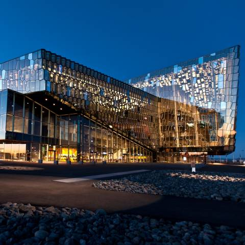 Concert Hall and Conference Centre Harpa