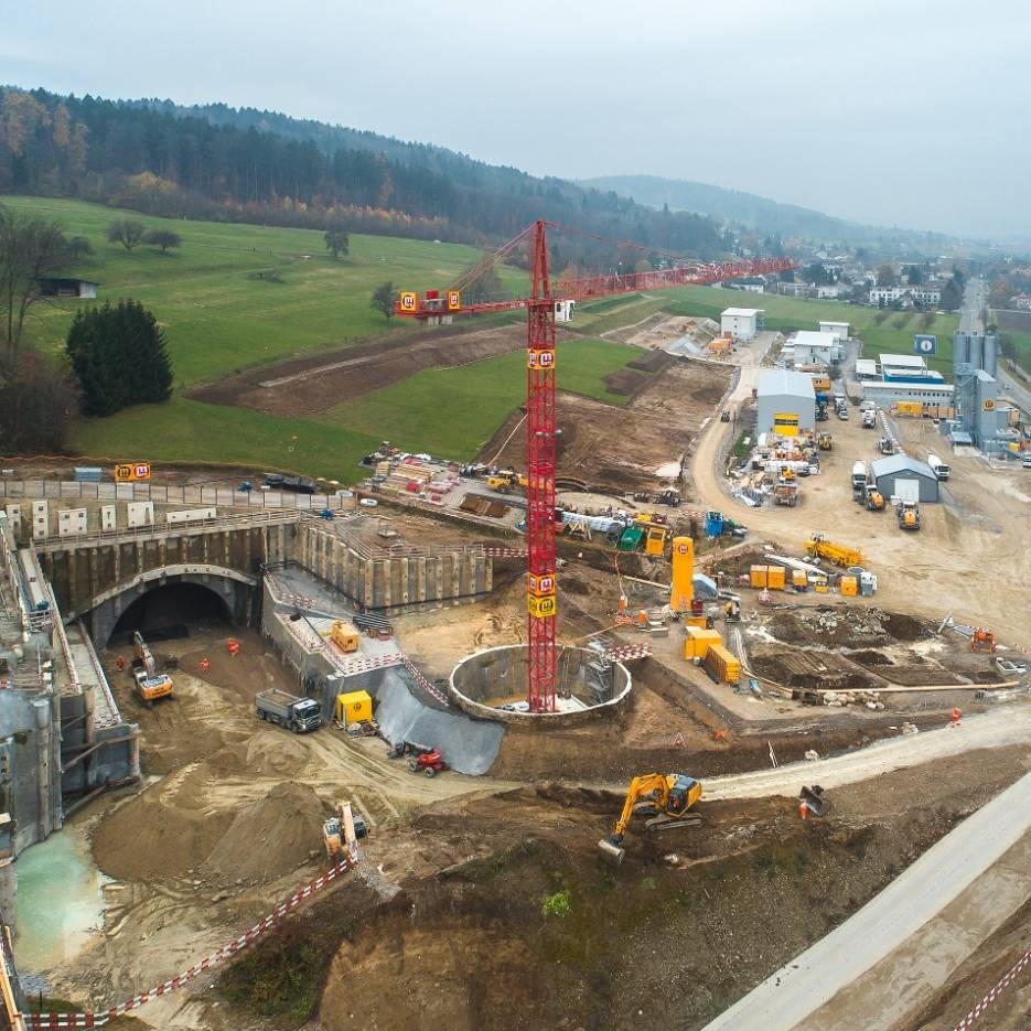 Project A1 North Bypass Zurich